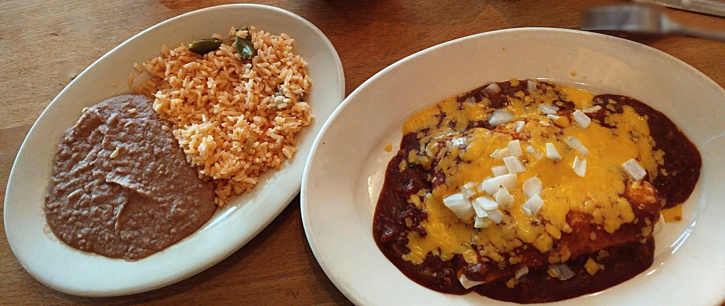 Beef Lover's Enchiladas -