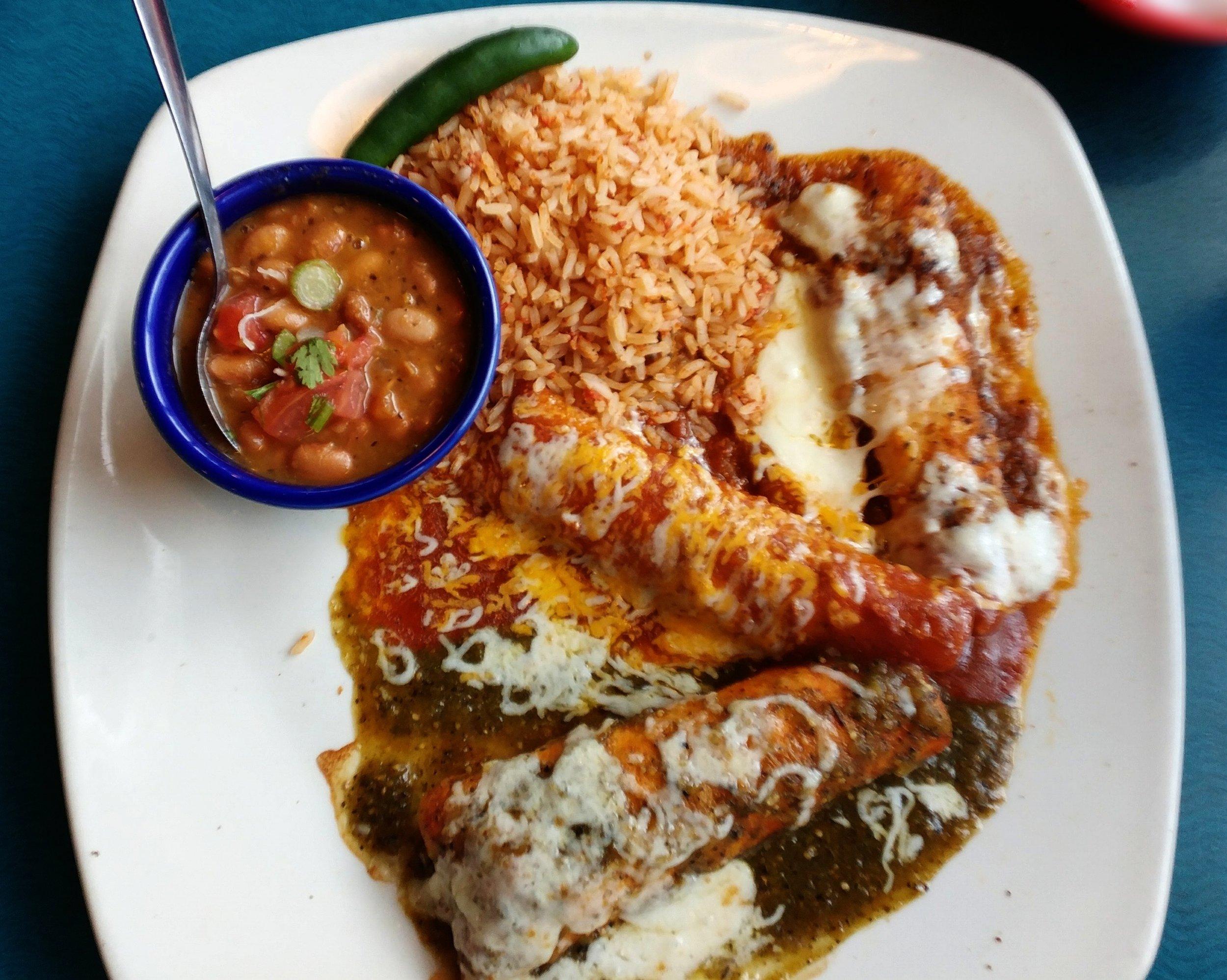Mixto Enchiladas -