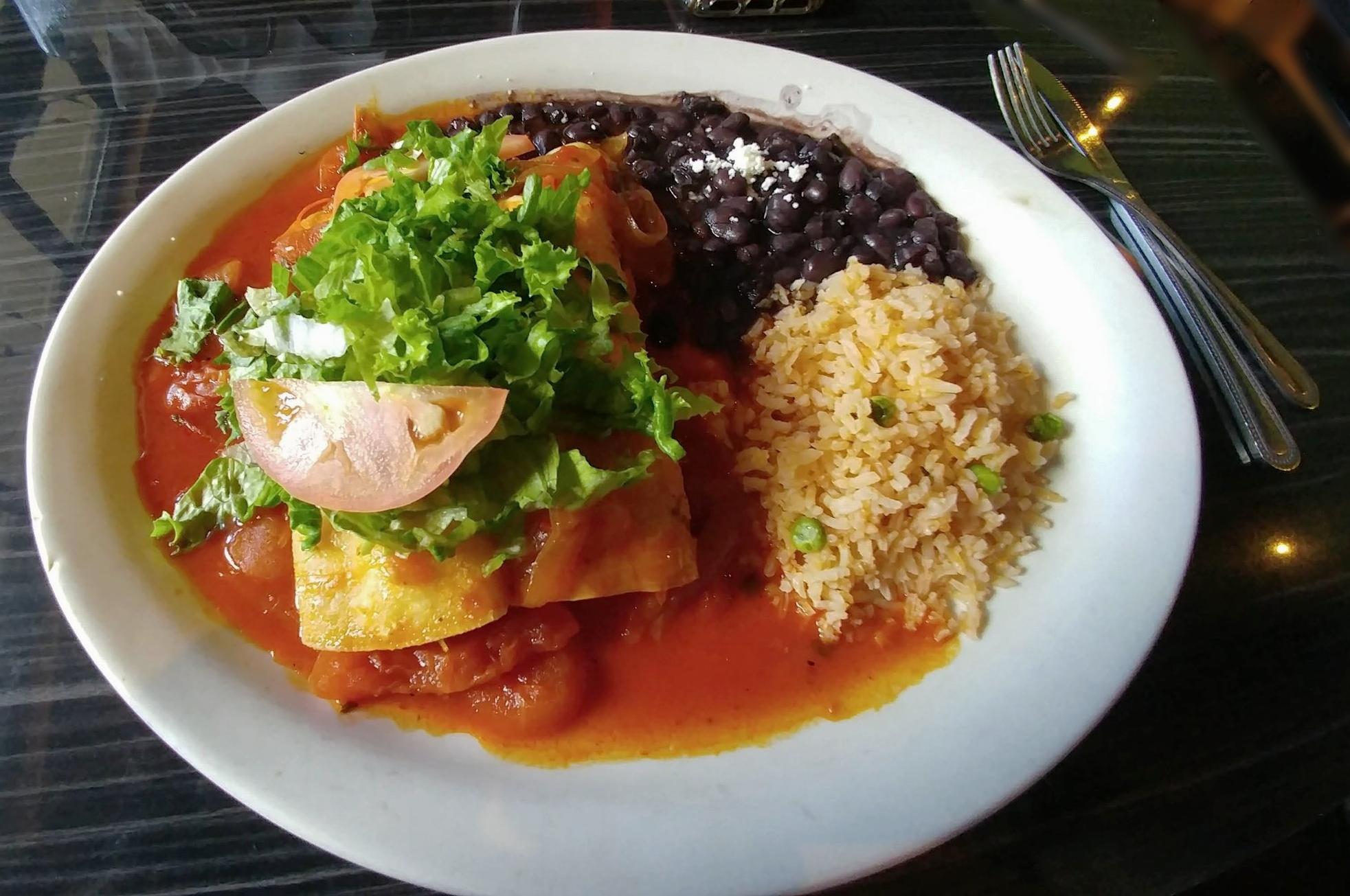 Enchiladas Diablas - with Chicken