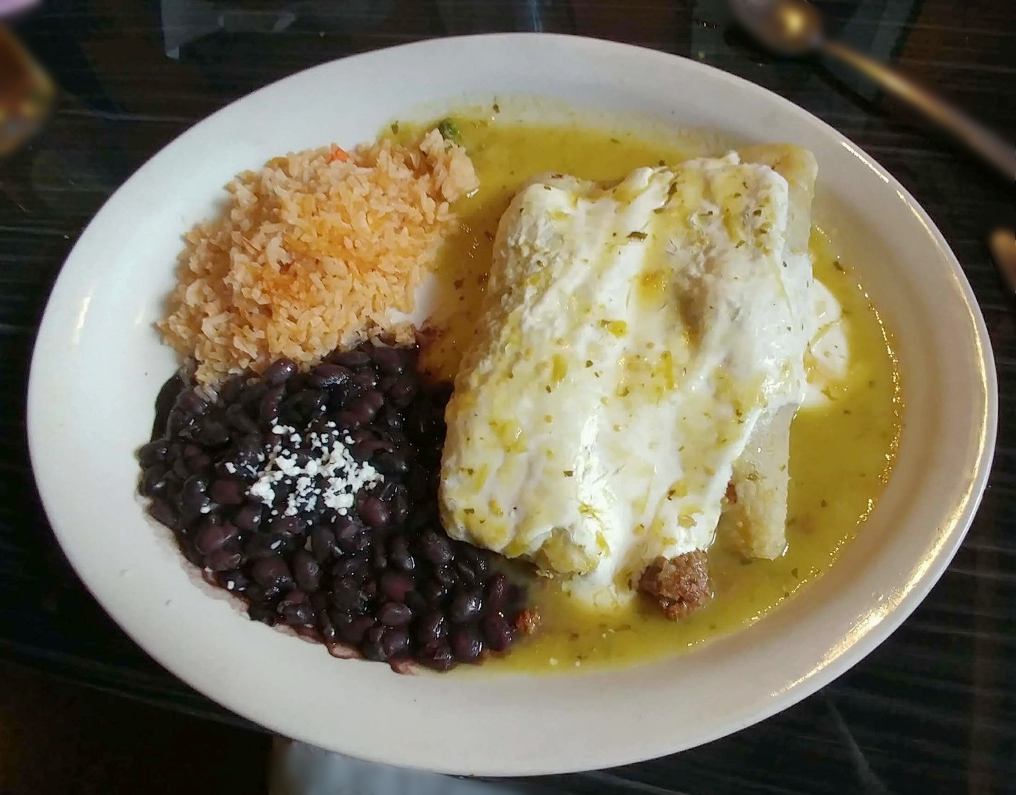 Enchiladas Suizas Tradicionales - with Beef