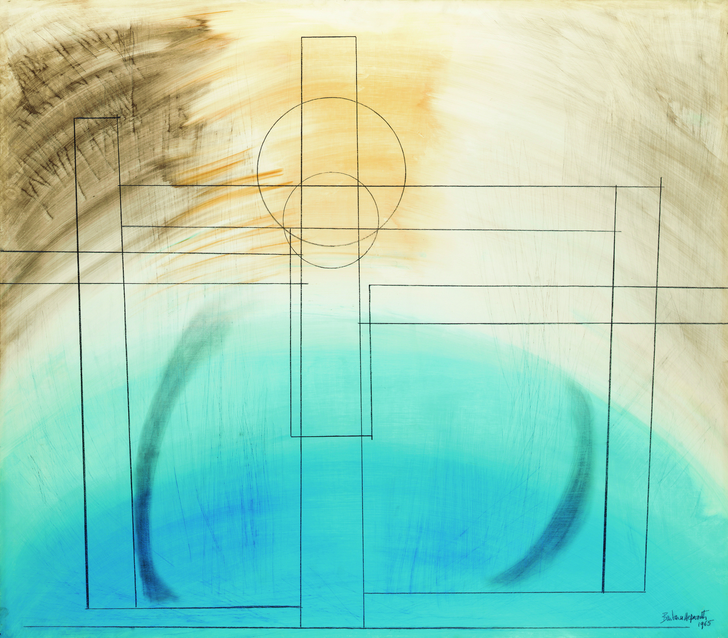 Barbara Hepworth, Construction I, 1965