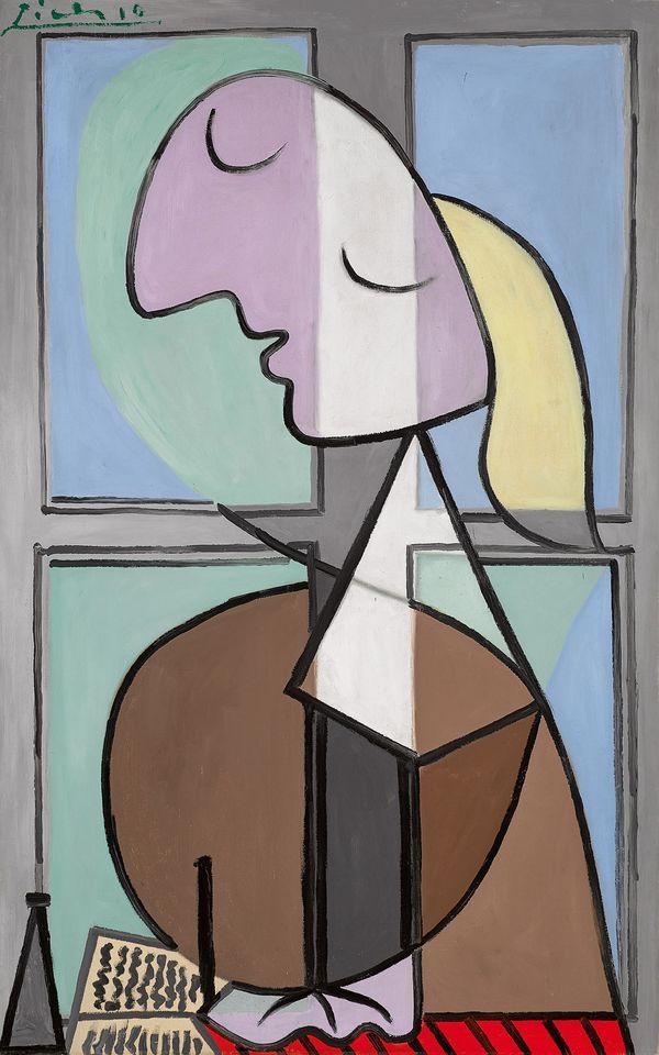Pablo Picasso, Buste de Femme de Profil (Femme Ecrivant), 1932