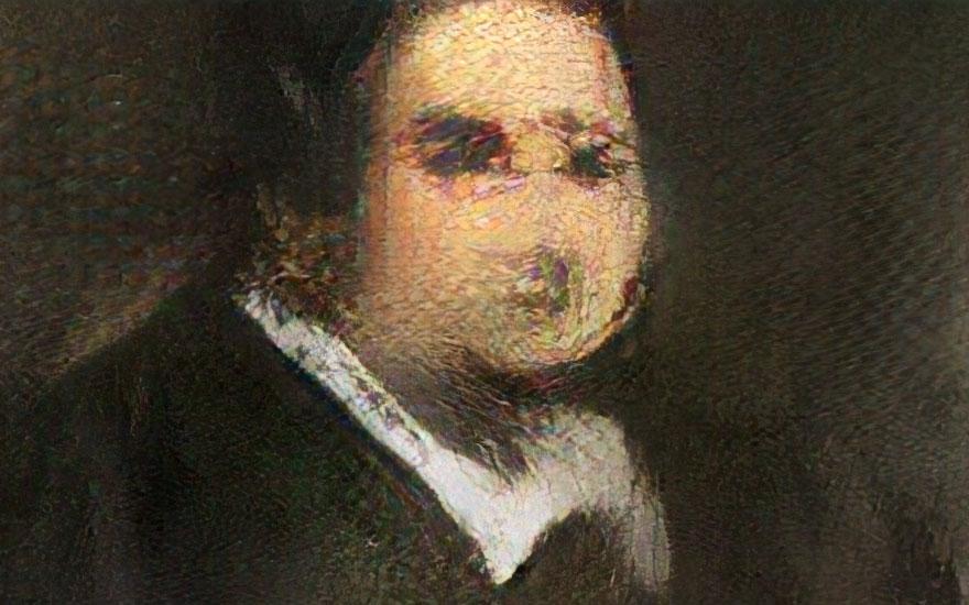 Obvious,  Portrait of Edmond Belamy , 2018
