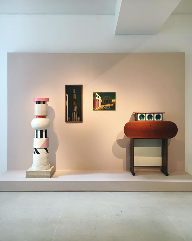 The best exhibition in #Paris at @tornabuoniart . . #aibartadvisory #artconsultant #artadvisor #artanddesign #contemporaryart #artconsultancy #artgallery #luxuryliving #fineart #inspiration #luxury #lifestyle #collector #artcollector #artlover #instadesign #style #ettoresottsass #giorgiodechirico #alessandromendini #michelangelopistoletto #alghieroboetti #gaetanopesce #luciofontana #carlomollino