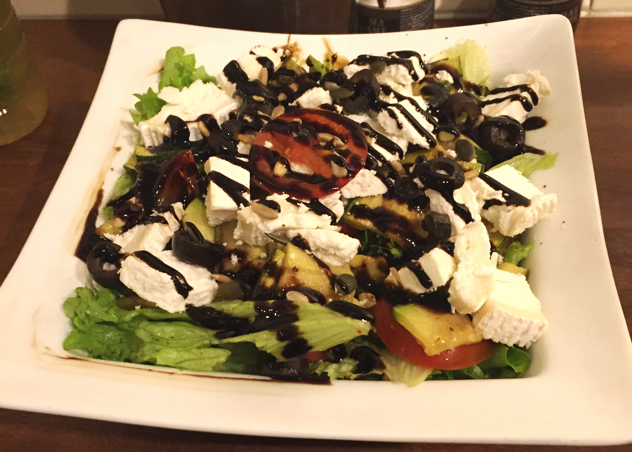 Goat Cheese and Veggie Salad