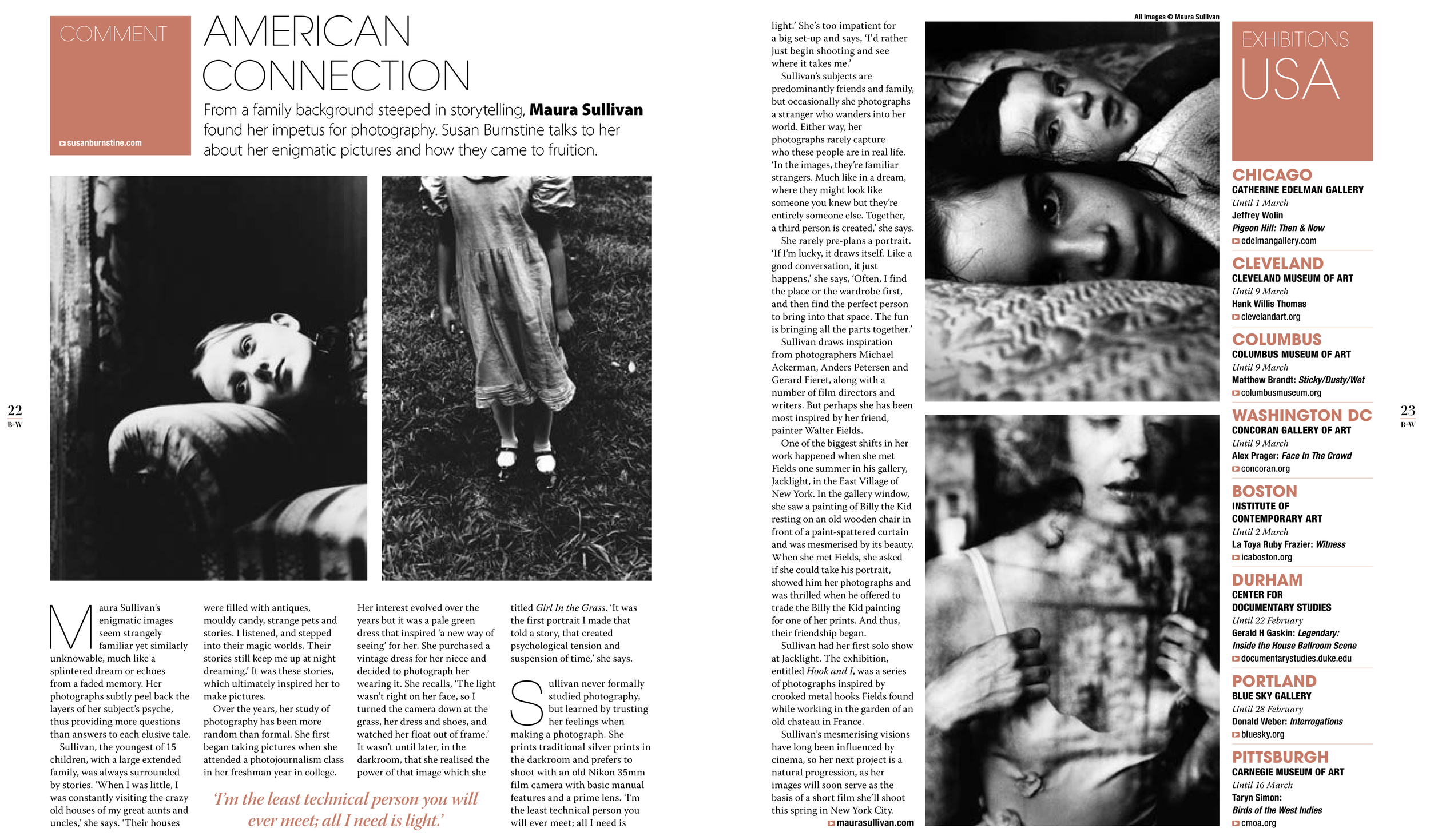 Black + White Magazine
