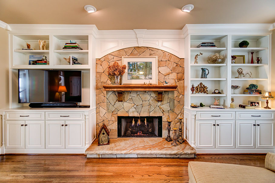 builtin cabinets living room cabinets houston