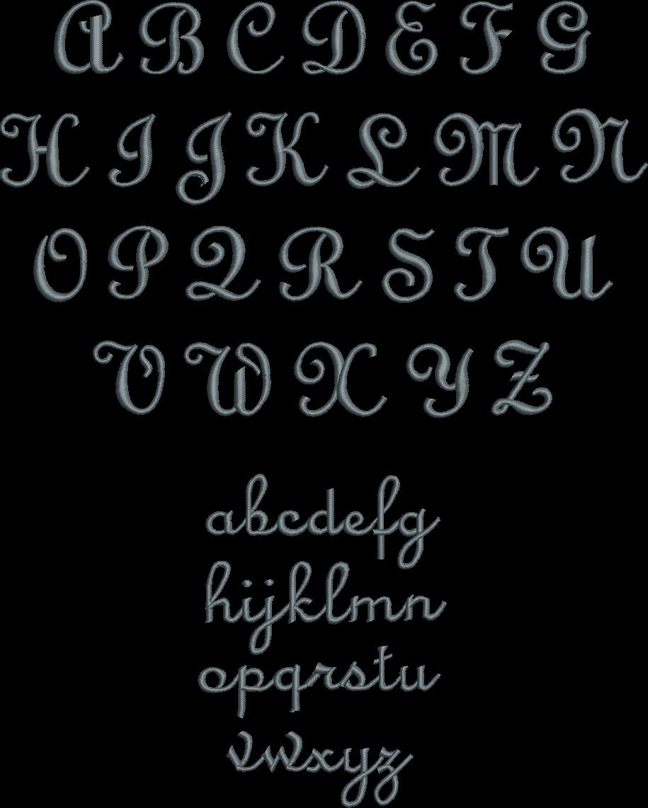 Exact Script Font Board.PNG