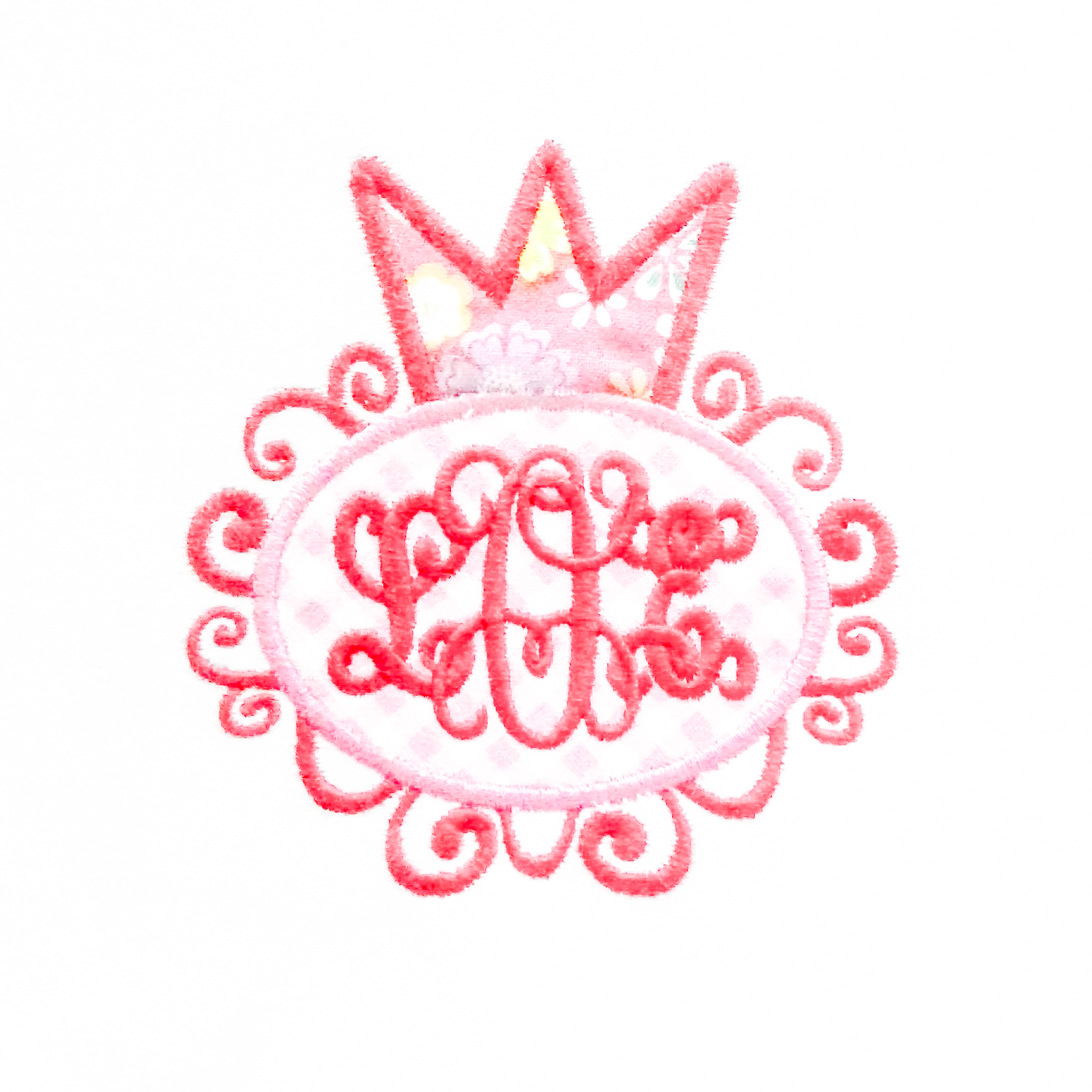 Frilly Crown