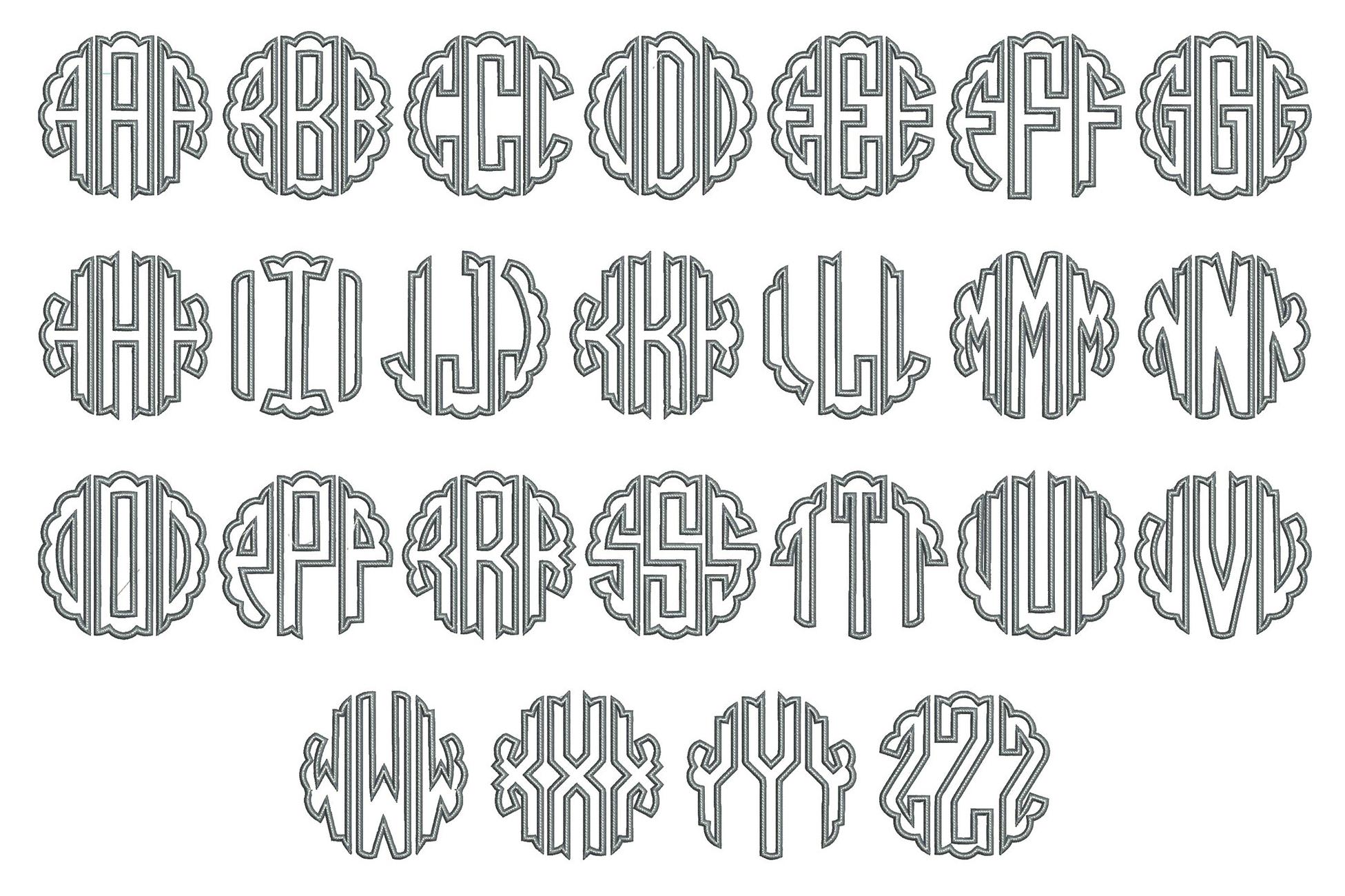 Scallop Font Board