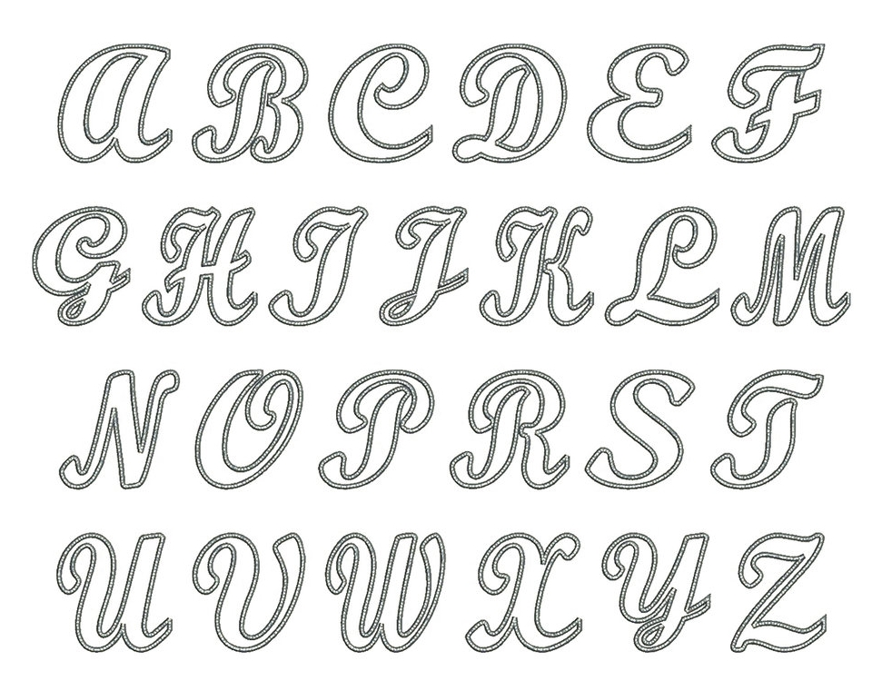Satin Alley Font Board