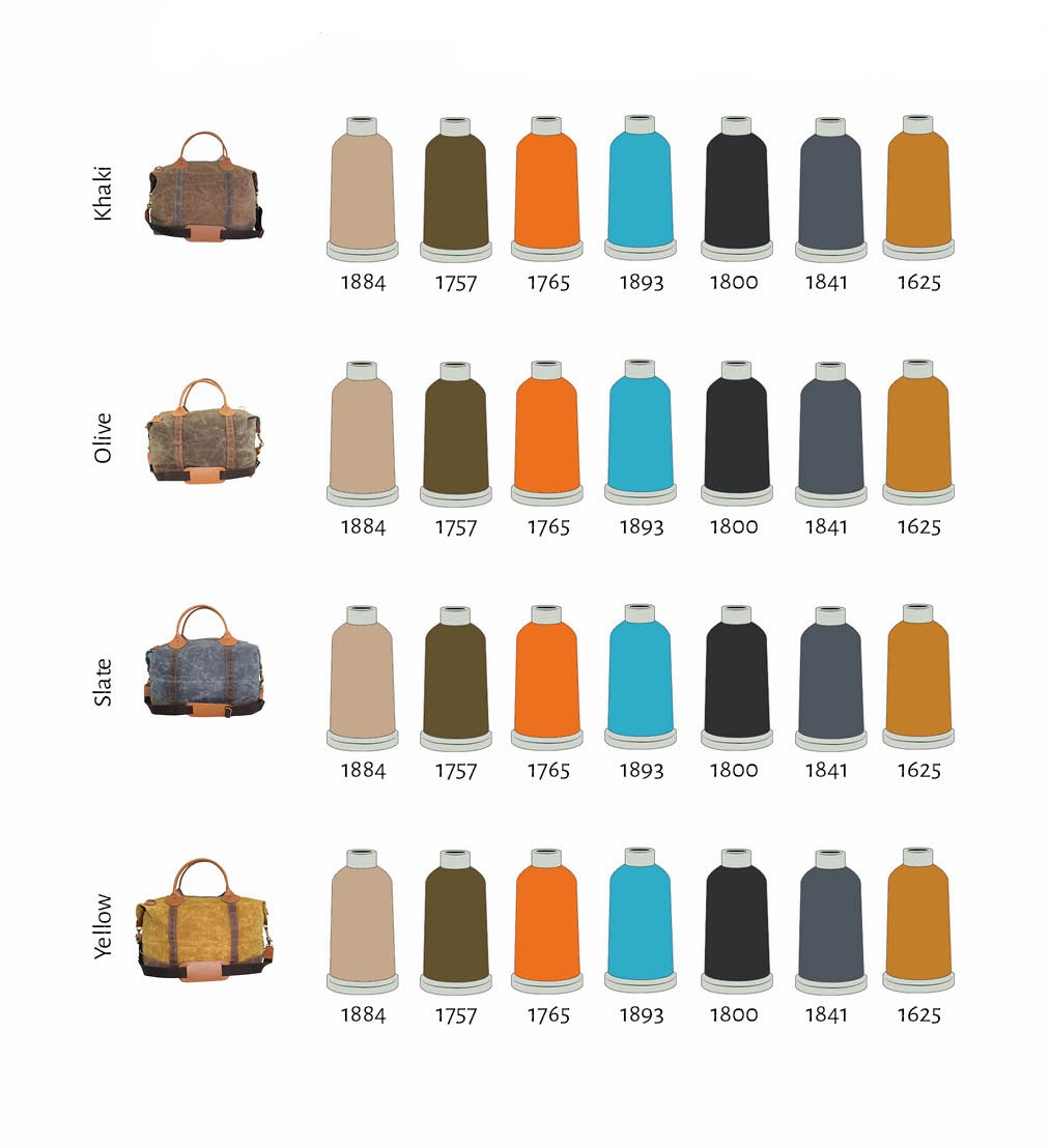 Recommended Thread Colors Wax Canvas weekender2.jpg