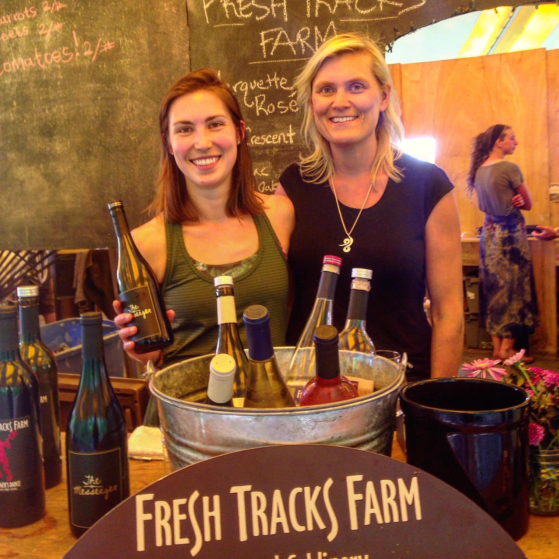 Fresh Tracks Farms winemakers