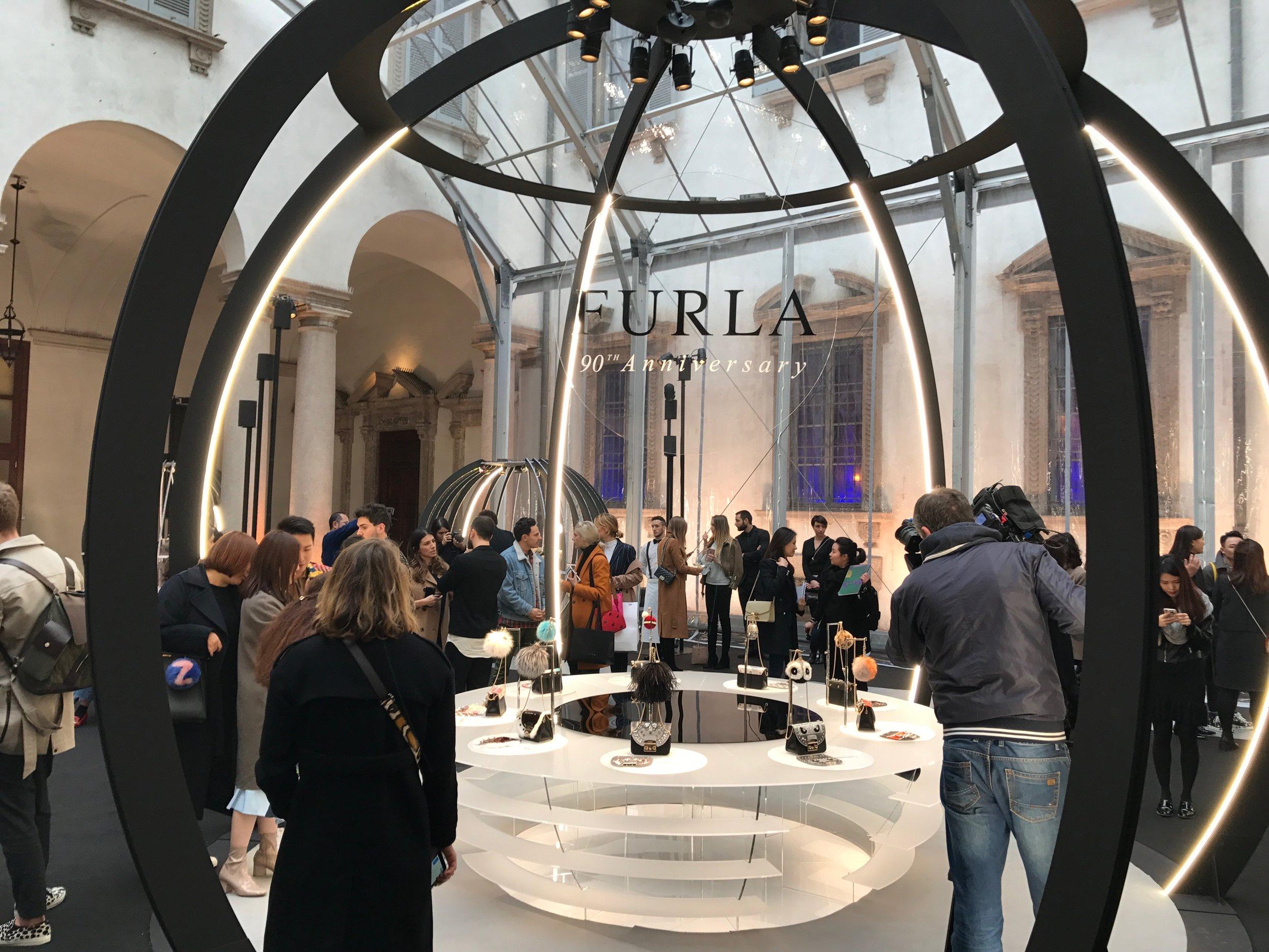 Haruna Kojima for FURLA press trip