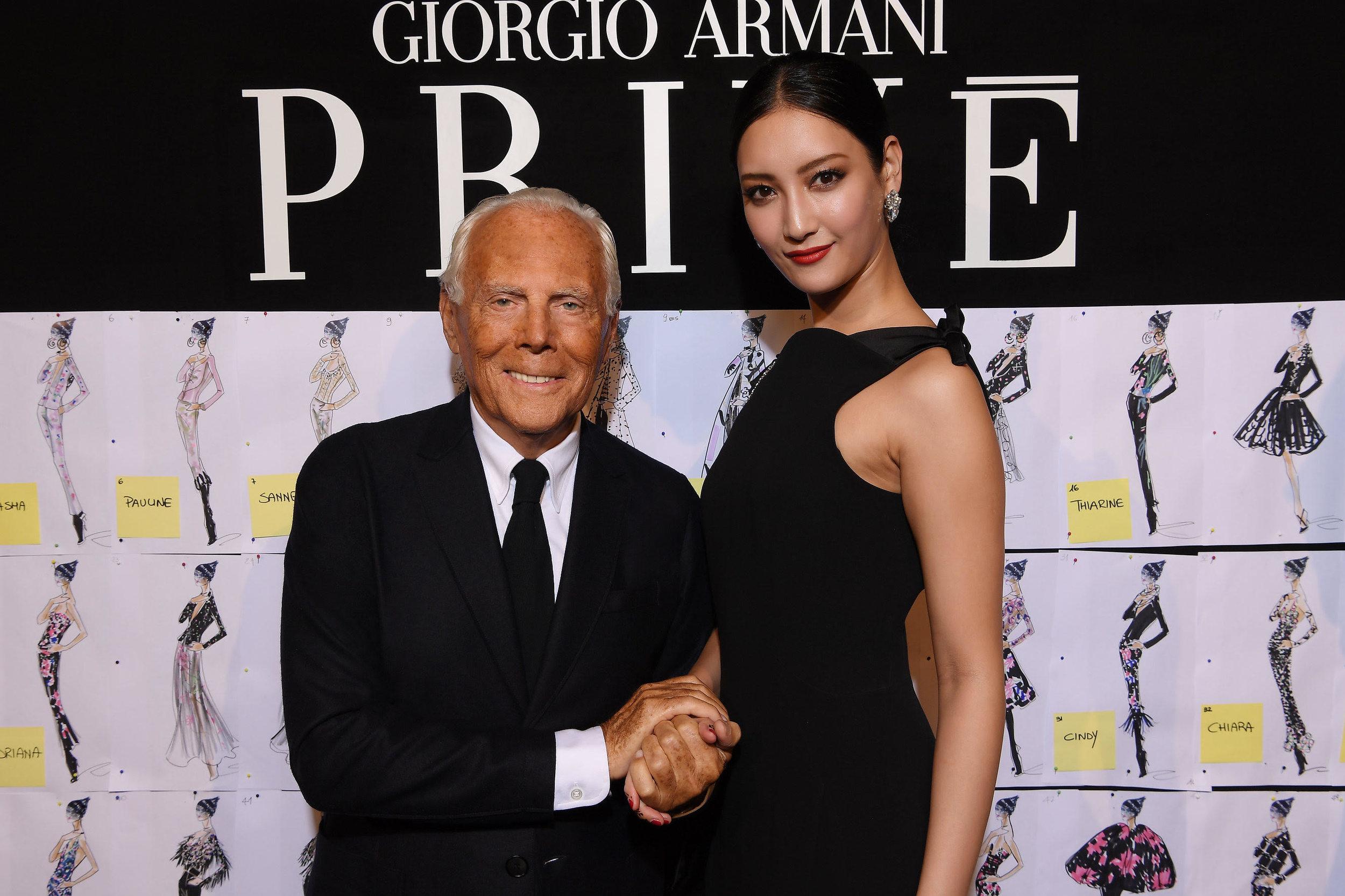 Nanao for Giorgio Armani Beauty