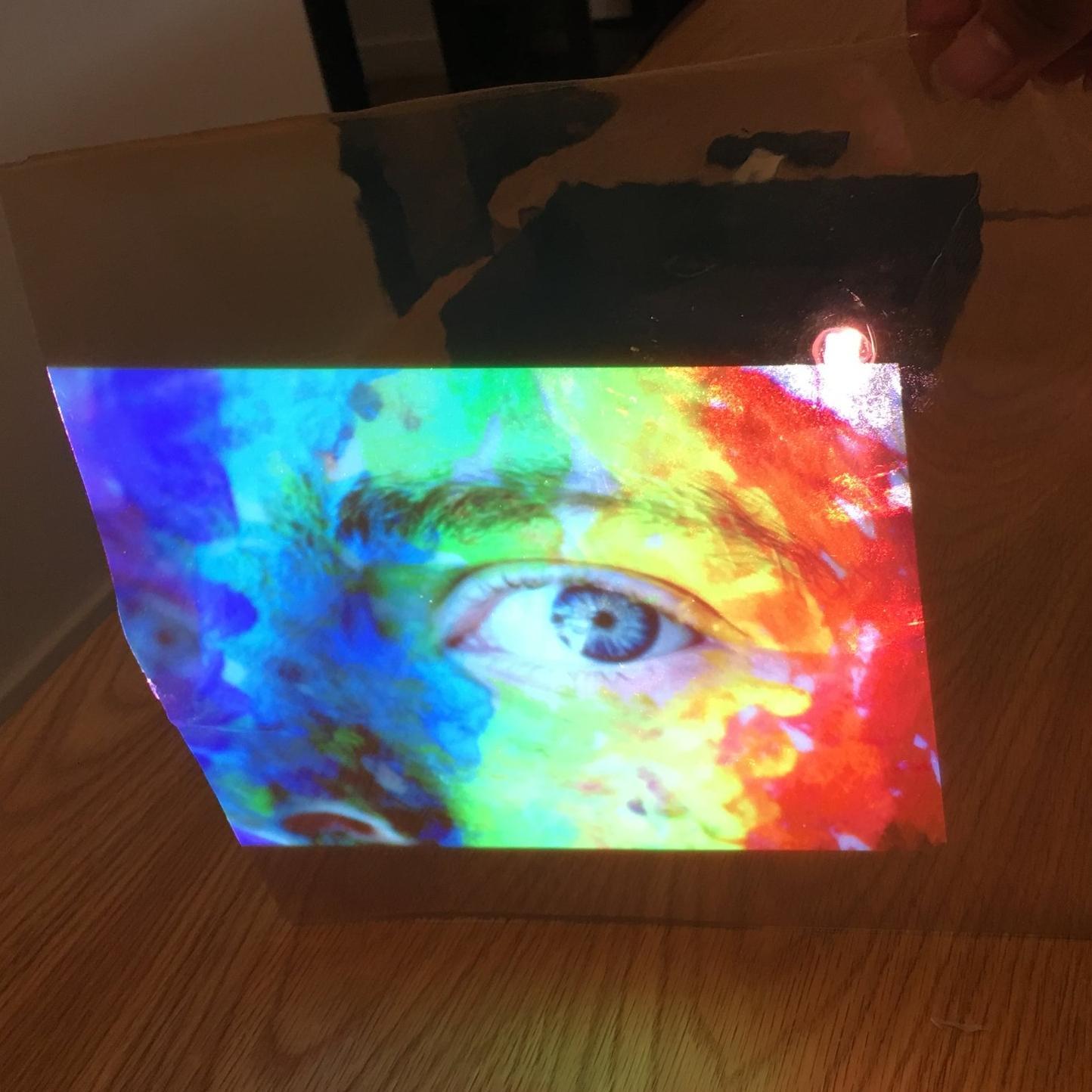 Facing Towards Projector -