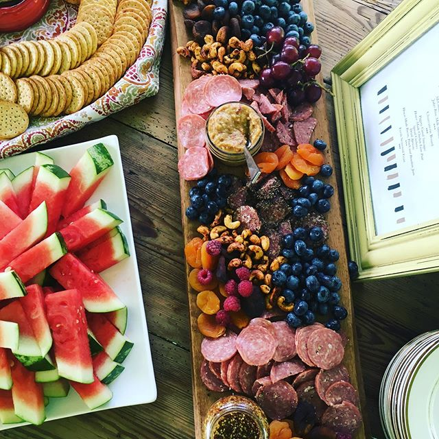 Good Truck charcuterie from last nights festivities . What a great wedding ! Beautiful couple , beautiful venue @gratitudeandgraceweddings and awesome food of course 😊