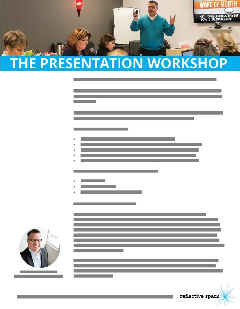 PresentationWorkshopTraining