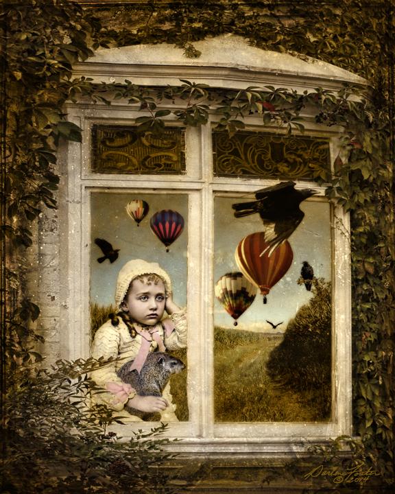 "Darlene Foster, ""Groundhog Day,"" photographic montage, 2014.  Image © Darlene Foster."