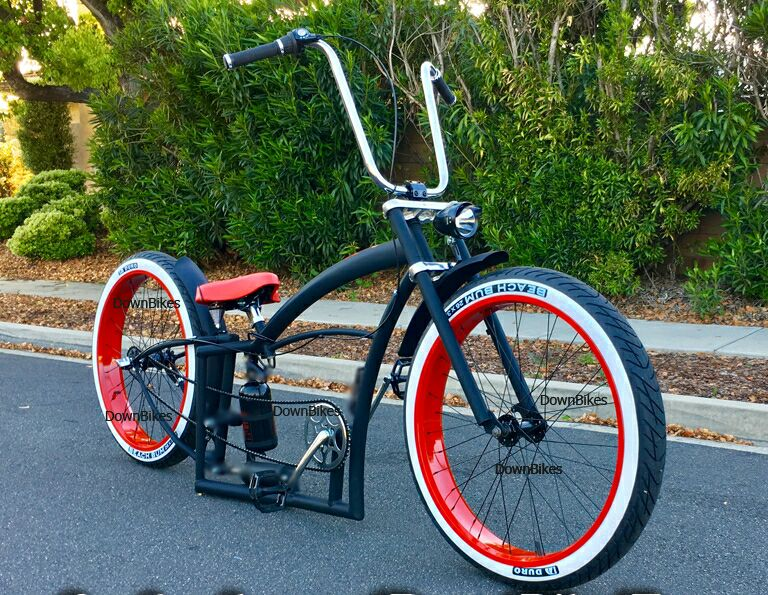 Friday: Display of custom bicycles