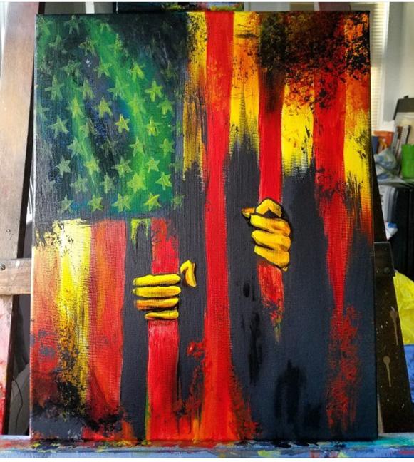 """Luis Sanchez, """"Land of the Free"""""""