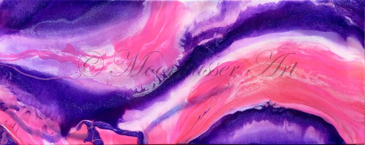 """Janet Rockware, """"Tickled Pink"""""""