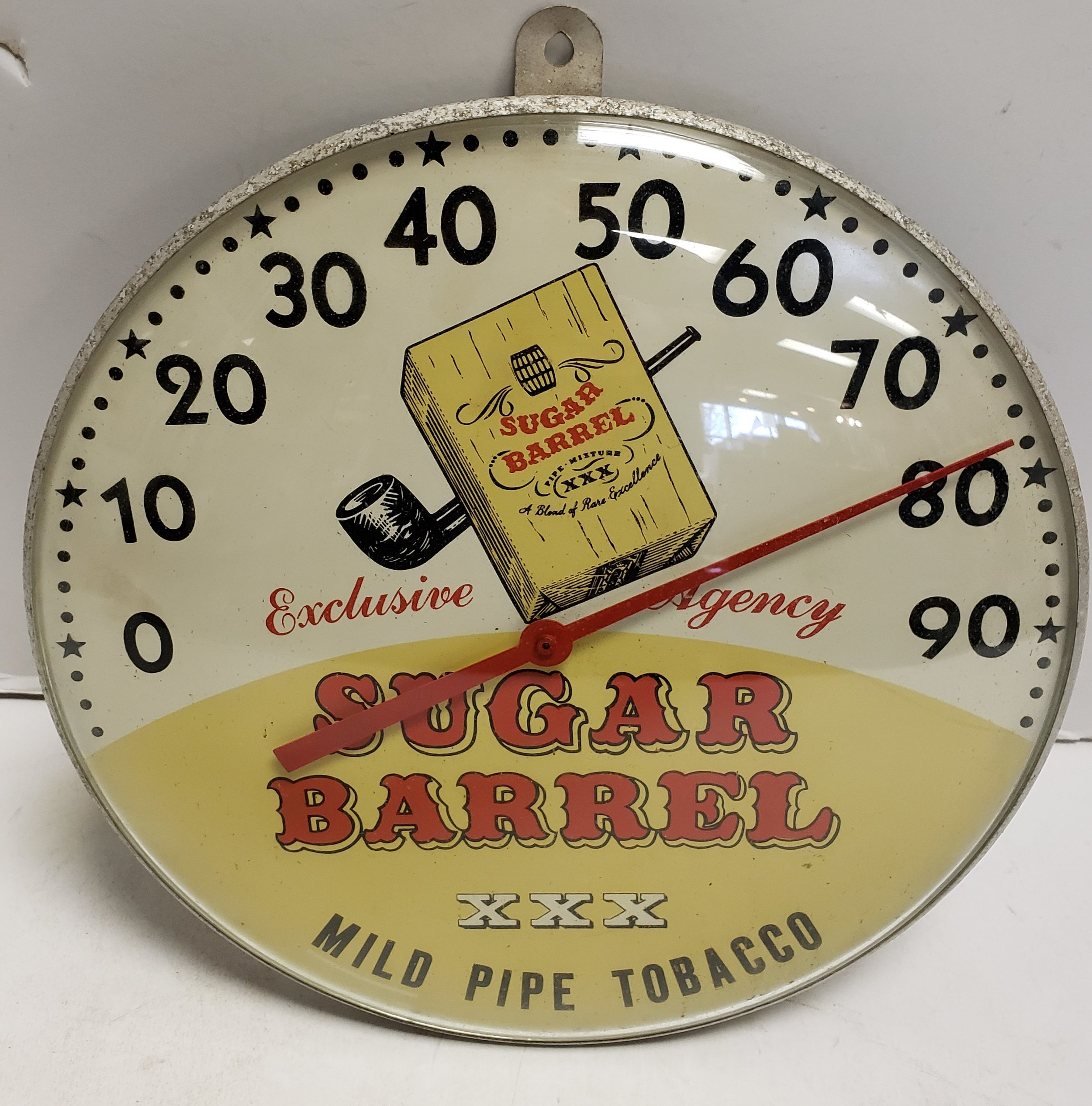 1940's Sugar Barrel Thermometer