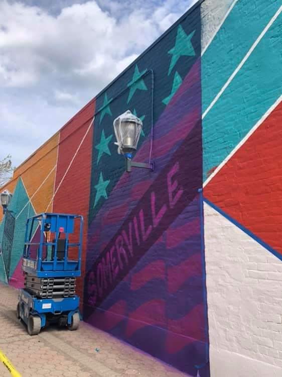 A mural for Somerville