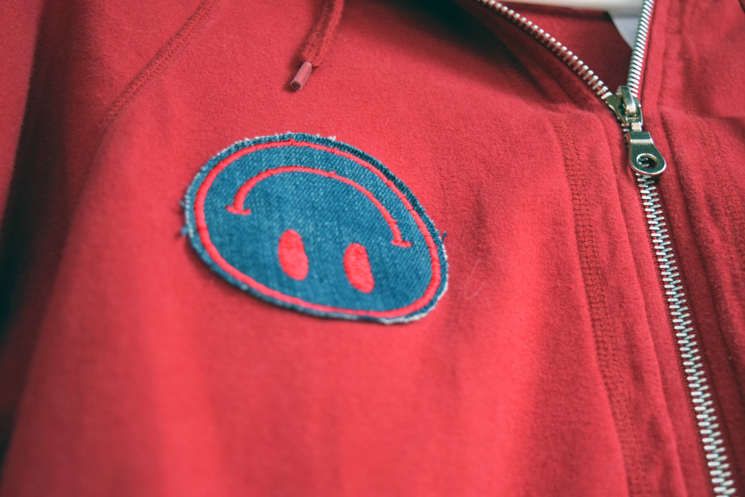 Upcycled Hoodie with Zero Waste Patch- Detail.jpg