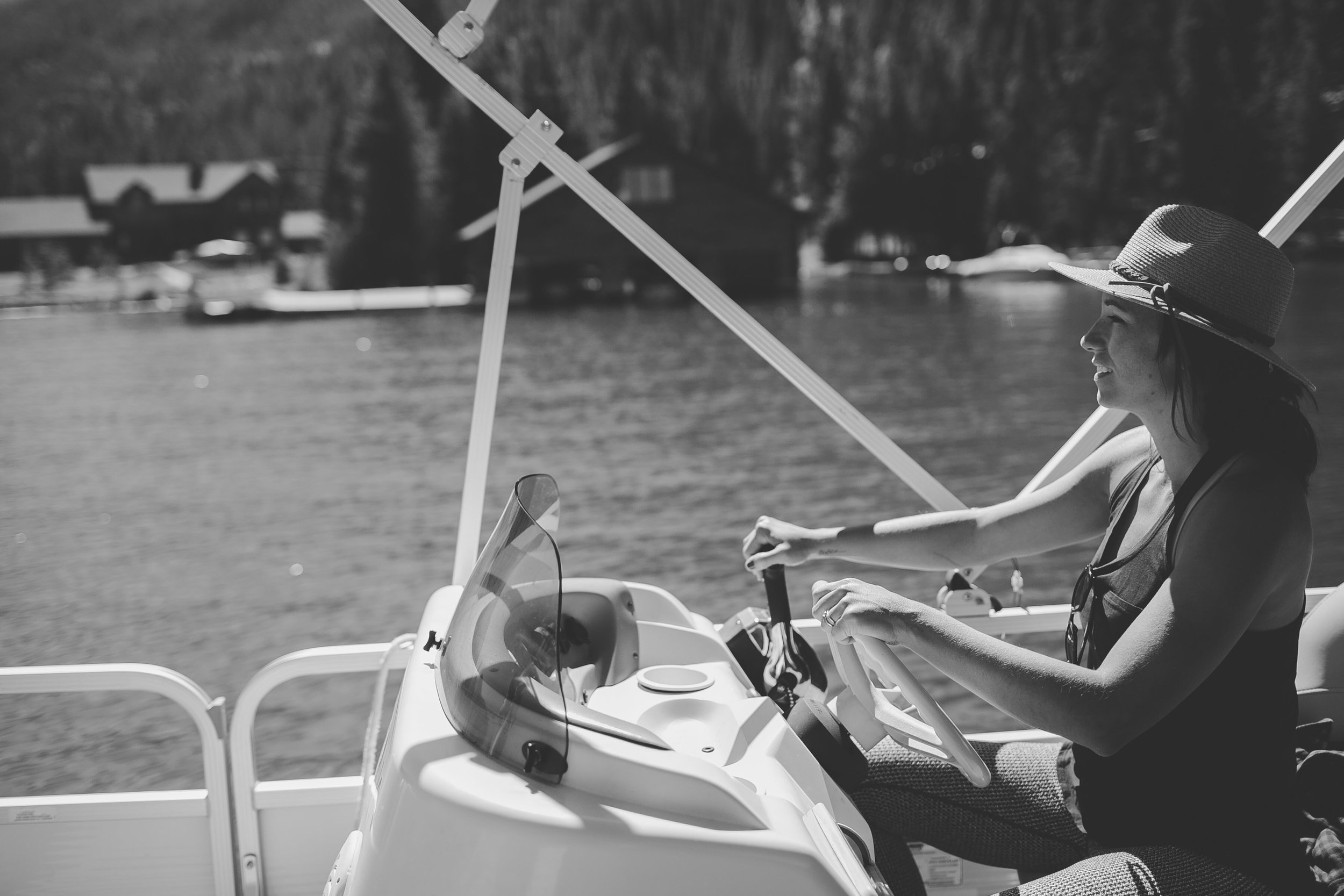 That one time at the Novel Grapes Book Camp when I planned us a guided boat tour and when we arrived to our pontoon boat, they handed ME the keys and I was the tour guide. Happened.  Photo Cred:  Tayler Carlisle Photography