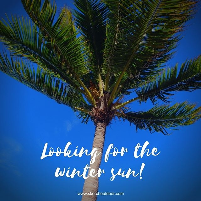 Where do you go for #wintersun?  #travel #sun #beach #waves #sand #sea #SKORCH #SKORCHbag #fun #drybag #kayak #canoeing #boating #rowing #surfing #paddleboard #jetski #snowboarding #greatoutdoors #keepitdry #bag #backpack