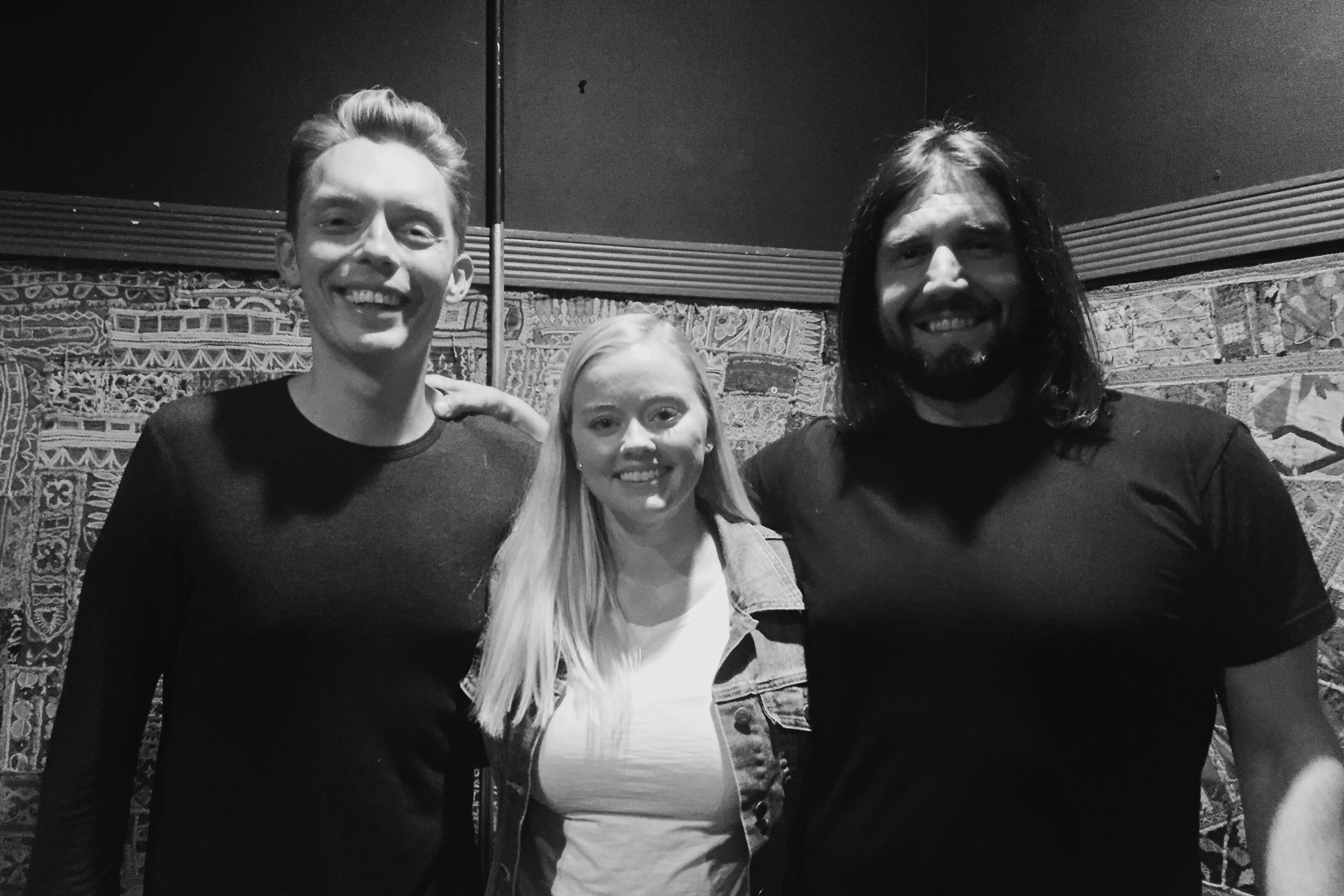 """With The Minimalists - Joshua Fields Millburn and Ryan Nicodemus - at their """"Less is Now"""" Tour."""