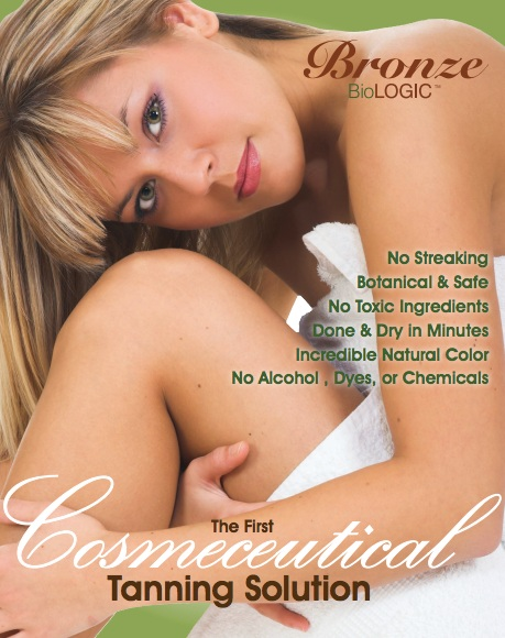 Organic Spray Tanning - The solution Alyssa uses does not and will never contain any harmful or toxic chemicals. There are only 5 ingredients which are Purified Water, Dihydroxyacetone: (DHA) a simple carbohydrate compound derived from plant sources such as beet sugar and causes a natural tanning of the skin when applied at the right concentration. Cane sugar, Whole Leaf Aloe Vera, Benzoic Acid: A naturally occurring compound with antimicrobial properties, and is found naturally in cranberries, prunes, greengage plums, cinnamon, ripe cloves and apples.Non-Toxic Spray tanning at Studio $45.00 —Spray Tan packages are available and help you save $$! Please Contact me about purchasing your tanning package!