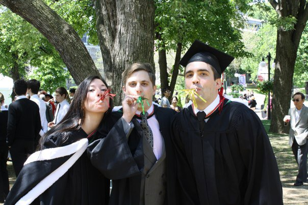 Stephanie at her graduation.
