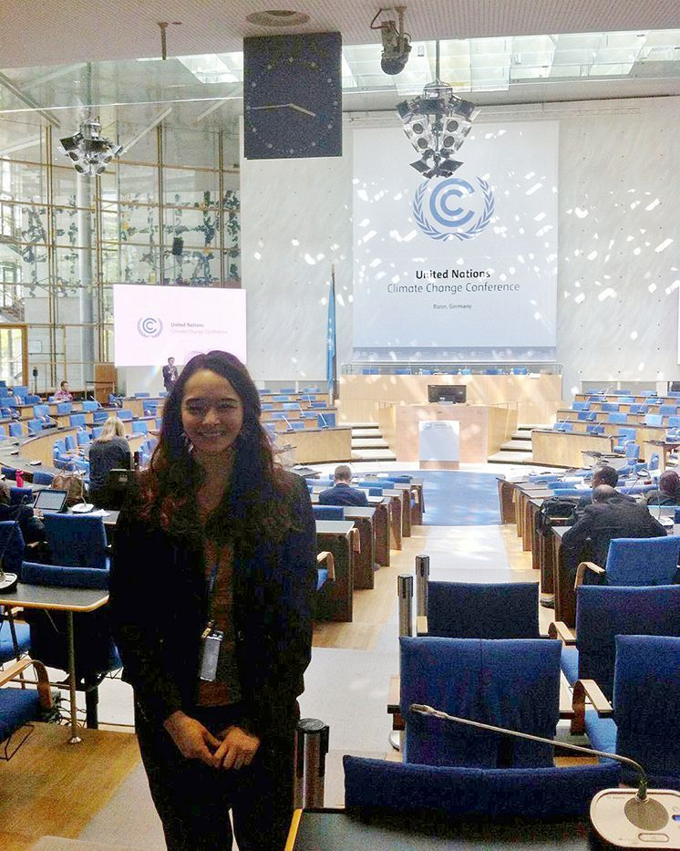 Louise at the UN Climate Change Negotiations