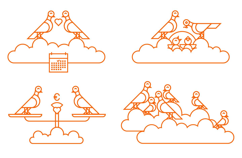 illustration_andre_levy_zhion_vector_outline_doves_wedding_planning_editorial_ing-diba_birds_geometric.jpg