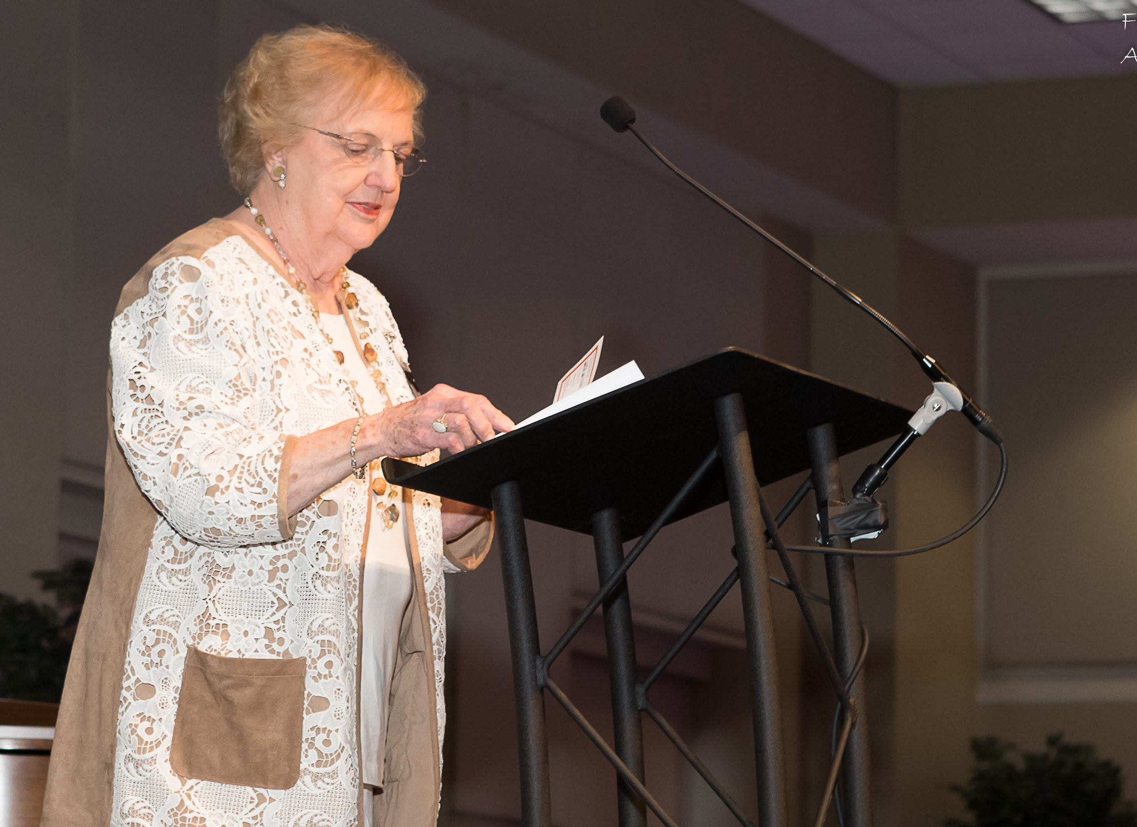 2018 Spring Fundraiser Honorary Chair, Mary Frances Turner