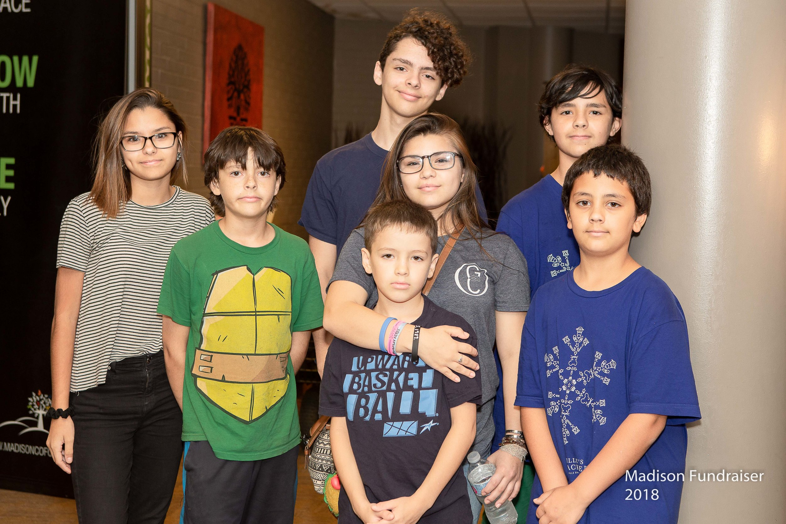 George Lopez's children supporting their father