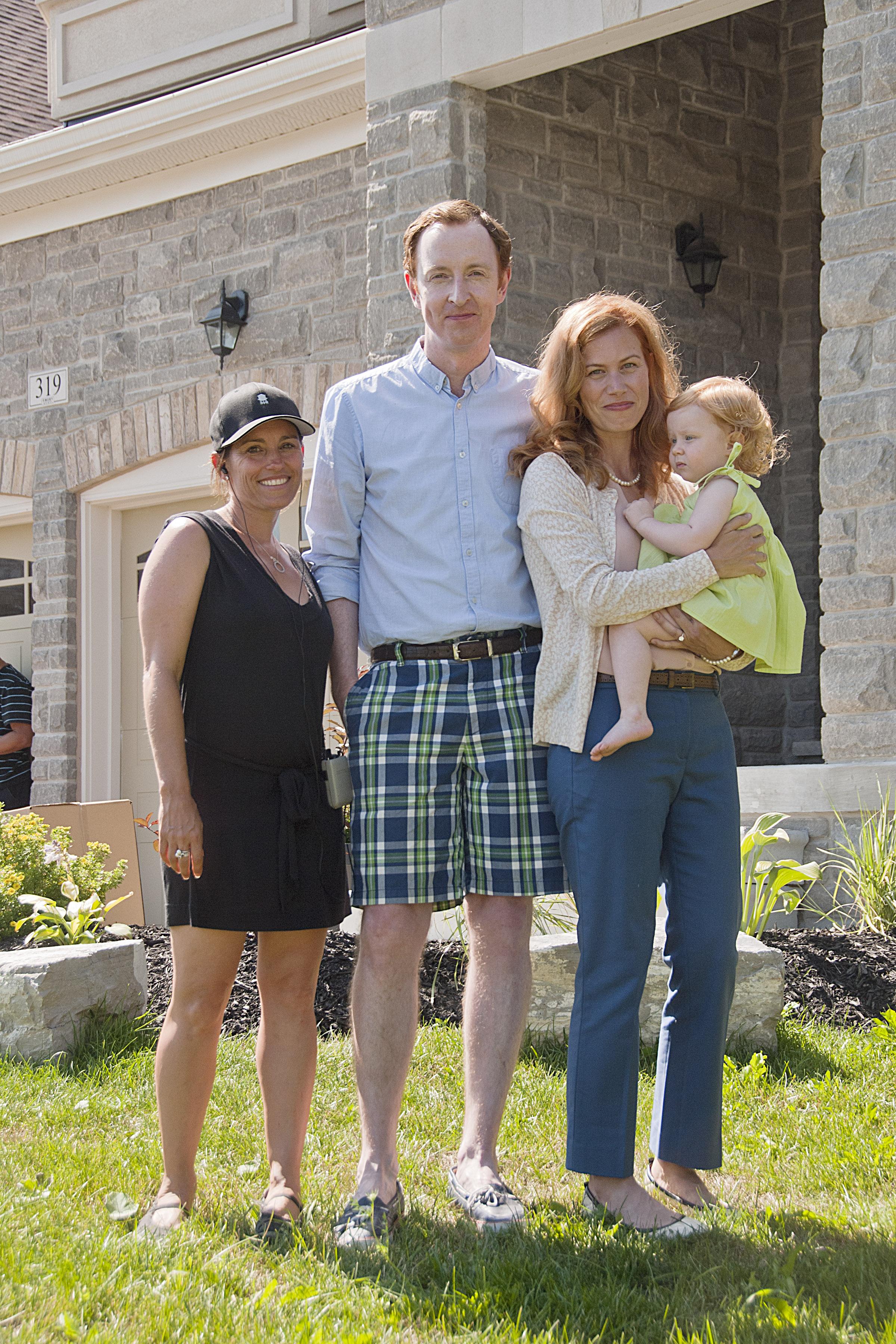 Danny Baker's family