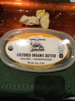 Kimball Brook Farm Cultured Organic Butter