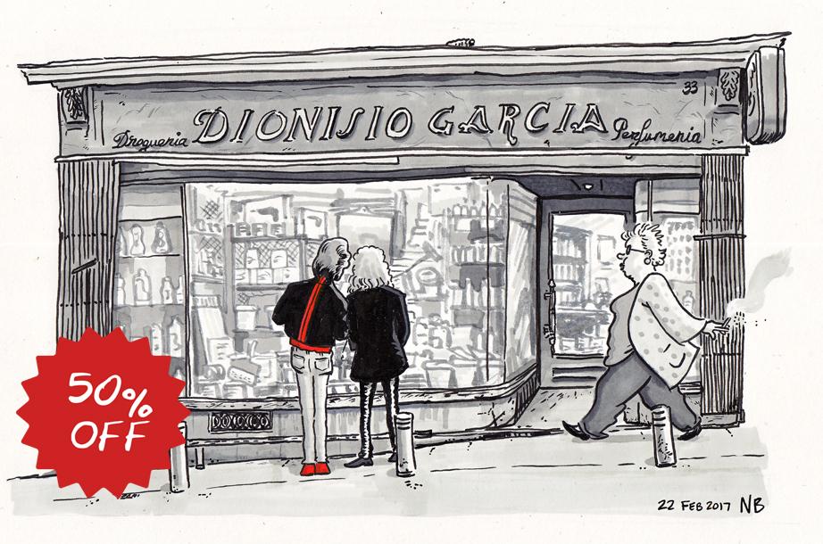 Dionisio Garcia, Calle de la Cruz