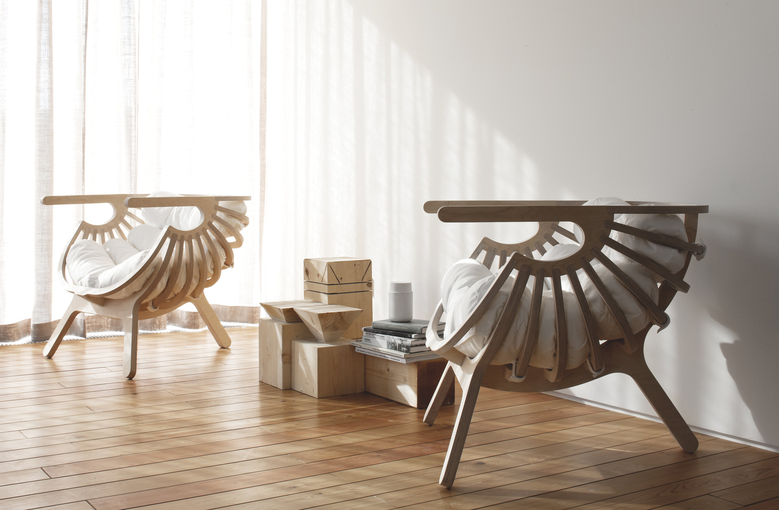 Shell Chair in Utopia House