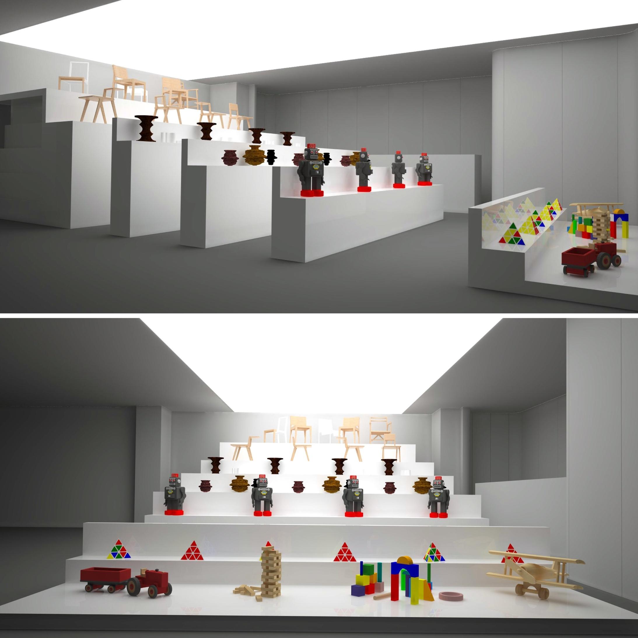 Interior Design - CCB Store -  Lisbon