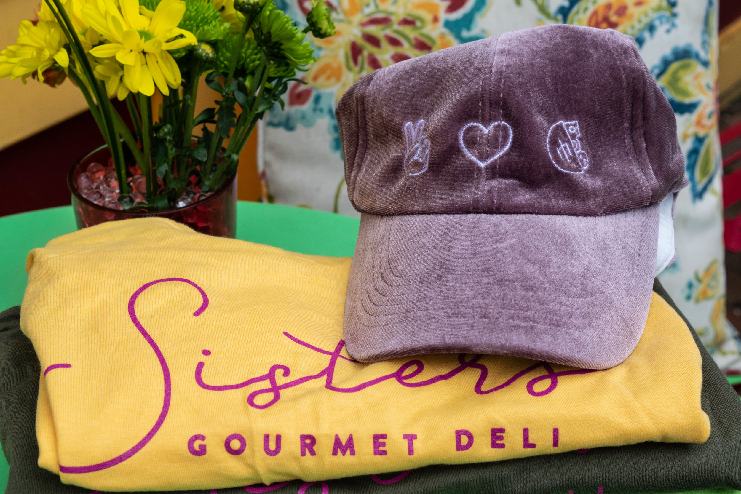 Sisters Swag - Stop in the deli to grab your Sisters swag. Plenty of colors and styles to choose from!