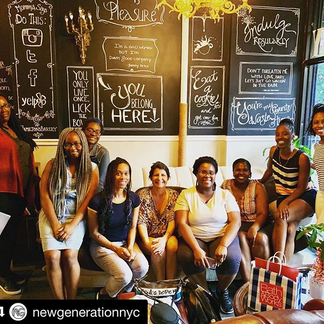 Support @newgenerationnyc ・・・ We had such an awesome time at Woman 2 Woman — our first Women's Huddle at @hamiltonsbakery. Ladies join us this Friday and every other Friday at 6pm as we gain Godly insight and wisdom to apply to our personal lives. #Woman2Woman #BecomingNewGeneration #Harlem #ChurchStartUp #ChurchPlanting
