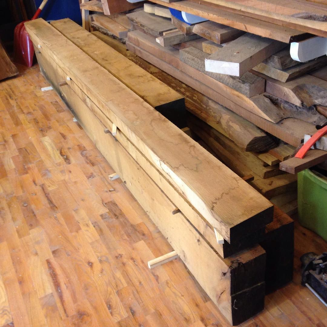 Getting started on my 9-1/2ft white oak Roubo tomorrow…  #condortails #madeinusa #madeinmichigan #Benchcrafted #woodshop #workshop  #woodwork  #handmade #workbench #roubo #tenon #dovetail #legvise #wagonwheel #woodworking #mcmfurniture #lienielsen #whiteoak  http://ift.tt/1l4fzoO