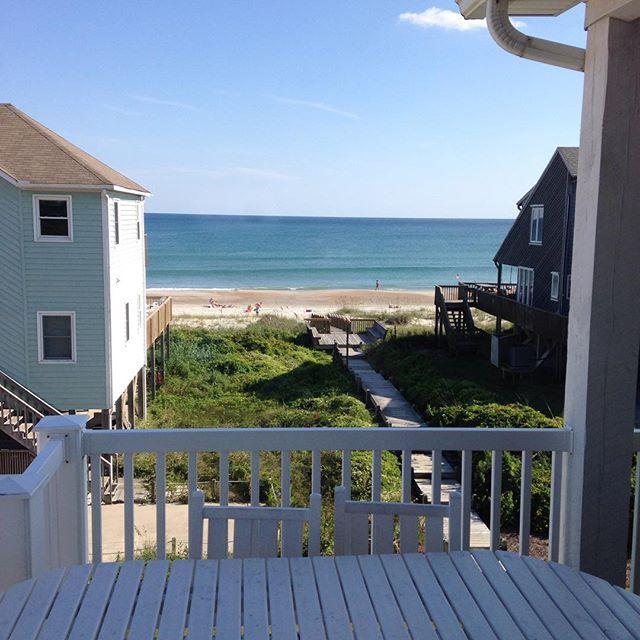 Officially on vacation. Emerald Isle, NC. Been coming here for over 20 years…  #vacation #emeraldisle #nc #northcarolina #beach #ocean  http://ift.tt/1EaJHaJ