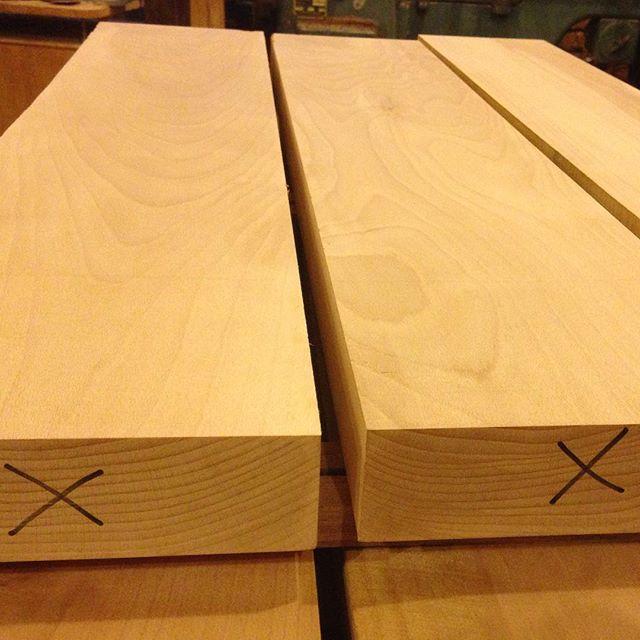 I like beech…  #woodporn #beech #woodworking #lumber #workbench #workshop  http://ift.tt/1NlWeKD