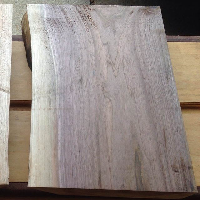 Live edge cutting boards to be coming soon…  #walnut #cuttingboards #liveedge #modern #cooking #local #green  http://ift.tt/1JNBCZE