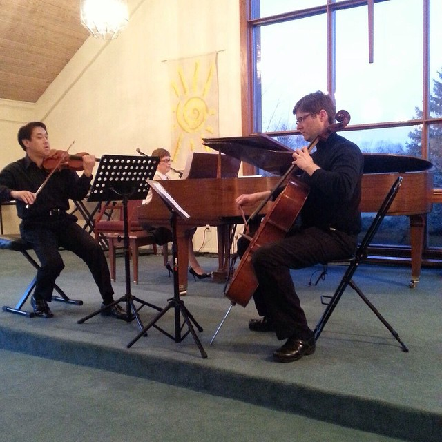 Had a trio performance tonight of the Mendelssohn 1st piano trio. I wanted to get out in the shop today but I'm always paranoid that I will cut my finger or something rendering me useless on cello to my colleagues…  #concert #trio #recital #pianotrio #cello  http://ift.tt/1ymzcyq